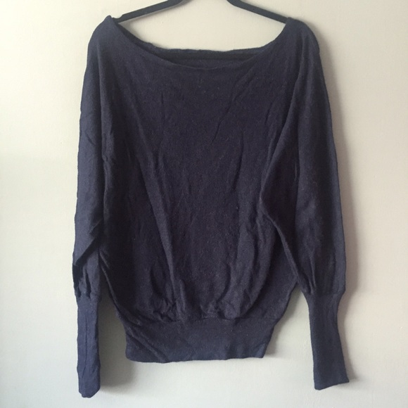 80% off Brandy Melville Sweaters - Brandy Melville Navy Off ...