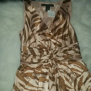 Marc by Marc Jacobs Dresses & Skirts - Marc Jacobs Peach/ Brown Dress