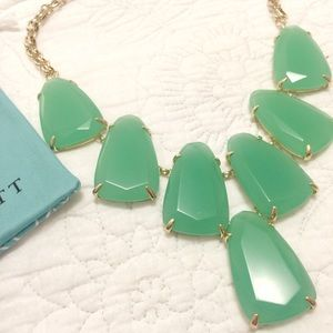 Kendra Scott Harlow Statement Necklace - Mint