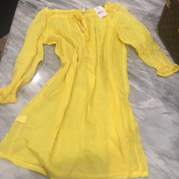 f7abcae877 Vix Swim | Sofia By Cover Up Solid Yellow Szm | Poshmark