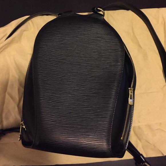 fdc8468cb438 Louis Vuitton Handbags - Authentic Louis Vuitton Epi Mabillon backpack