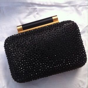 DvF Small Crystal Clutch