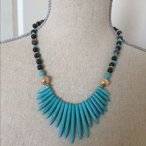 Jewelry - NEW Turquoise necklace set