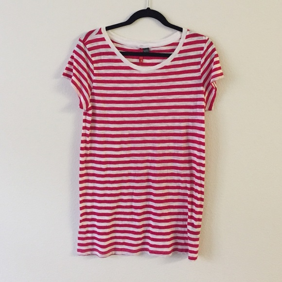 f550567f19 H&M Tops   Hm Red White Striped Tshirt   Poshmark