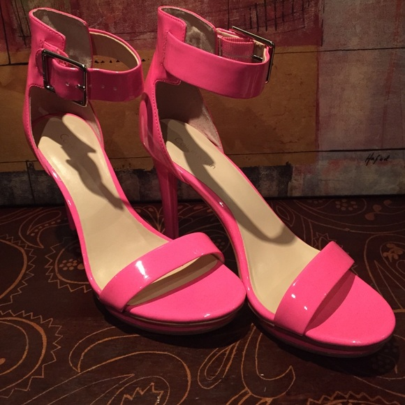 94ea8517dbc Hot pink Calvin Klein heels