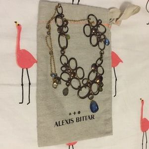 Alexis Bittar organic gem necklace