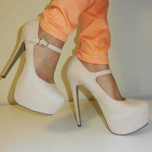 Shoes - Cream maryjanes