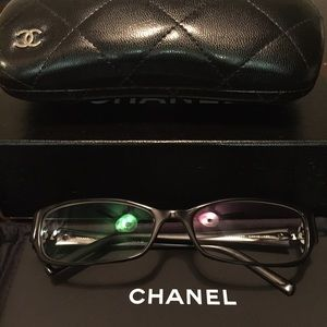 65% off CHANEL Accessories - CHANEL Eyeglass Frames in ...