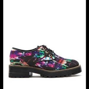TBA Lacey Pattern Oxford Shoe NWOT