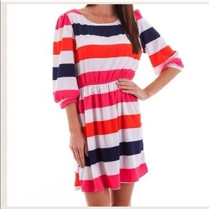 🚫Sold🚫Sunny striped dress