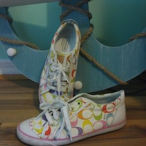 Coach Shoes - Multi-colored Coach shoes size 7.5