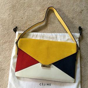 20% off Celine Handbags - Celine Diamond Shoulder Bag NWT 100 ...