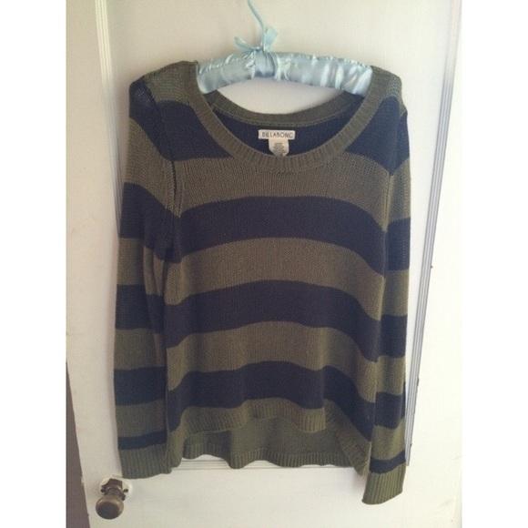 3fbd2e4a16 NWOT Billabong striped sweater. M_55918bae2e59b824770165a6