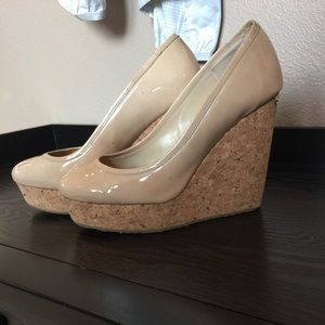 Authentic Jimmy choo wedges. Size 37