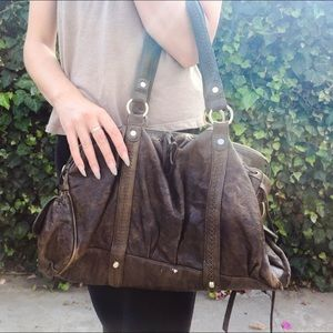 Junior Drake Leather Handbag 