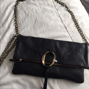 100% leather Lucky crossbody