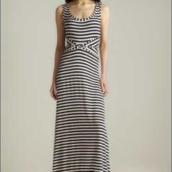 where to buy moderate price low priced Max studio striped maxi dress