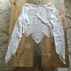 Dainty Lace Crop Top *NEW*