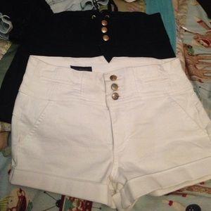 Bebe shorts high waist