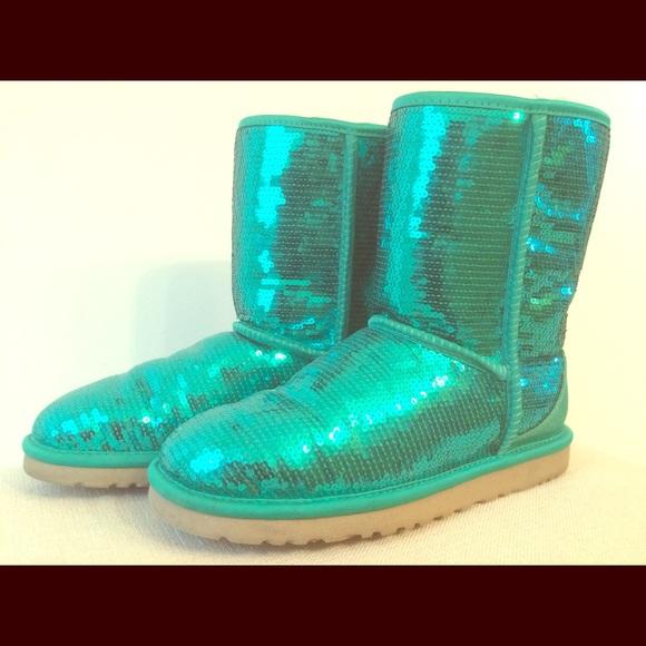 Jade Sparkle UGG Boots