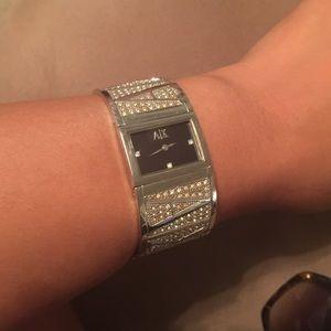262b264b7121 Armani Exchange Jewelry - Armani Exchange AX4050 Women s cuff watch