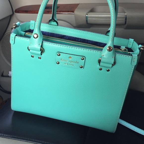 7d715ad73 kate spade Handbags - Tiffany Blue Kate Spade purse