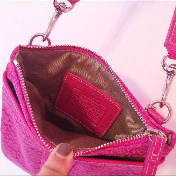 coach purse outlet sale nh1k  pink coach crossbody