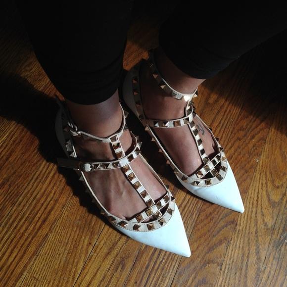 Zara Shoes   Valentino Rockstud