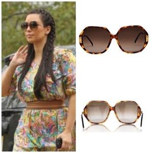 Linda Farrow Accessories - LINDA FARROW luxe sunglasses - Kim Kardashian
