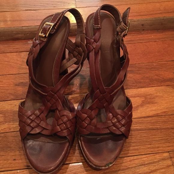 97 ralph shoes ralph brown braided