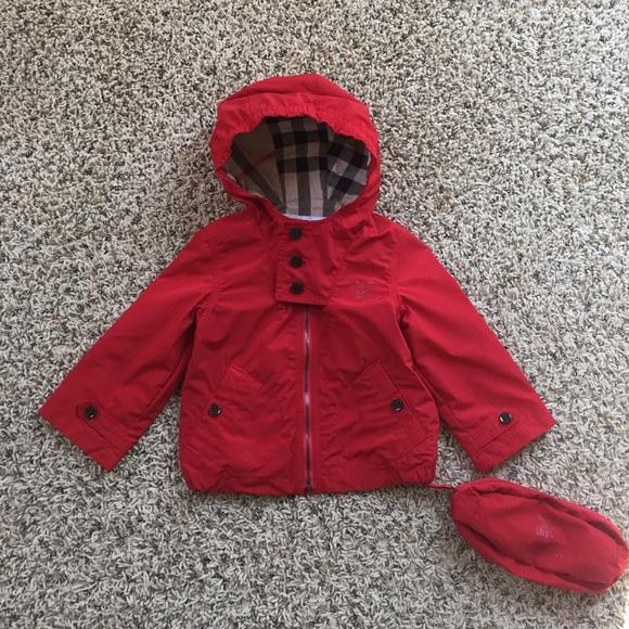f20b3e37af266b Burberry Jackets & Coats   Kids Barkby Packable Rain Jacket   Poshmark