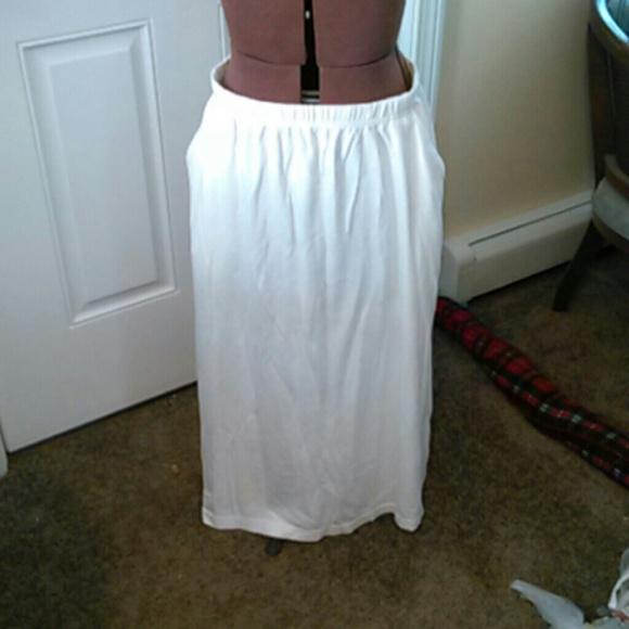 57% off crescent bay Dresses & Skirts - Cream colored cotton maxi ...