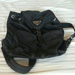 latest prada - 70% off Prada Handbags - Authentic Prada Knapsack Backpack ...