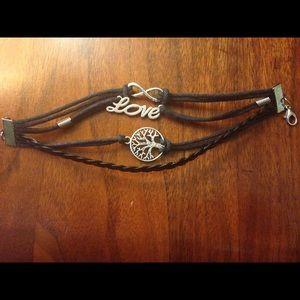 Jewelry - Love, infinity, tree bracelet
