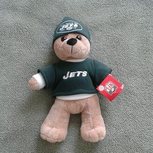 NFL Jets Green Teddy Bear Brand New NWT Great Gift