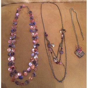 Necklace/ ring bundle