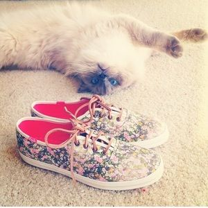 Madewell Floral Keds