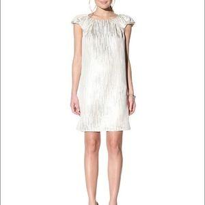 Behnaz Sarafpour Dresses & Skirts - Behnaz Sarafpour White/Silver Dress