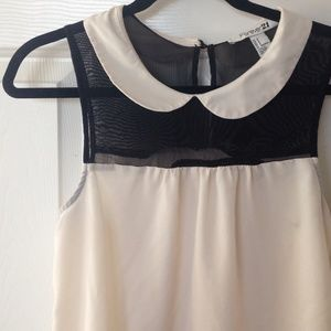 HOST PICKForever 21 creme and black top