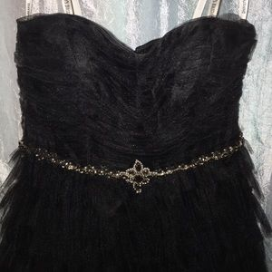 David's Bridal Dresses - Black semi formal/homecoming dress