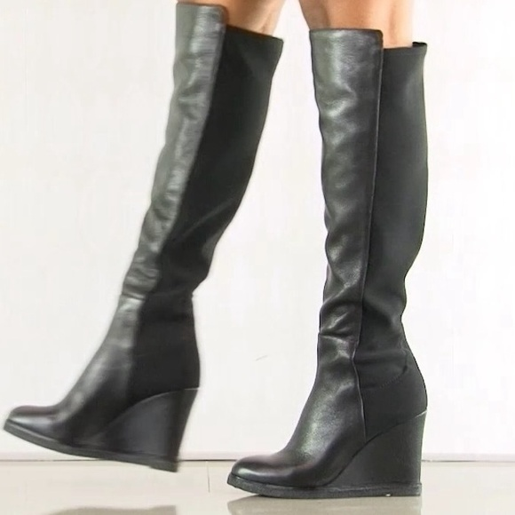 25% off Vince Camuto Boots - Vince Camuto Stretch Wedge Boots from ...