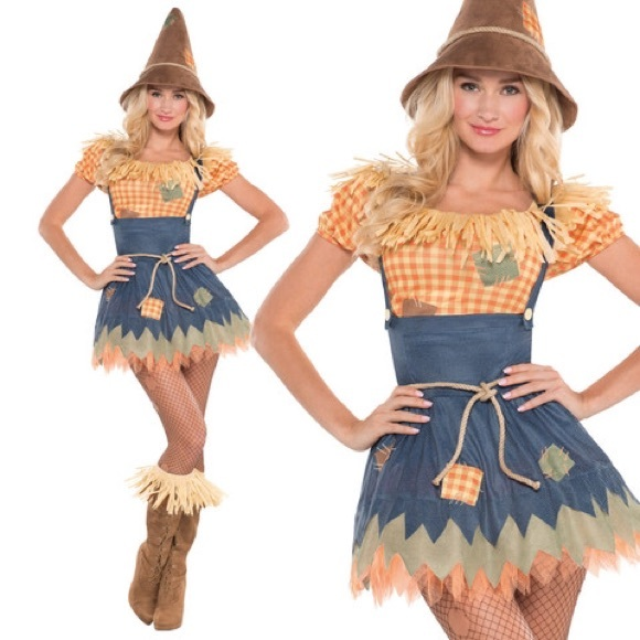 party city other sultry scarecrow halloween costume poshmark