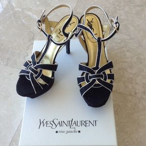Yves Saint Laurent Shoes - Yves Saint Laurent tribute sandals