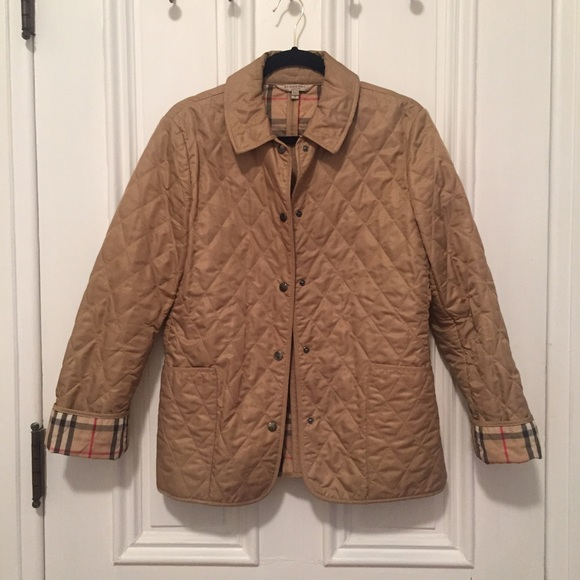61% off Burberry Jackets & Blazers - Burberry Classic Quilted ... : classic quilted jacket - Adamdwight.com
