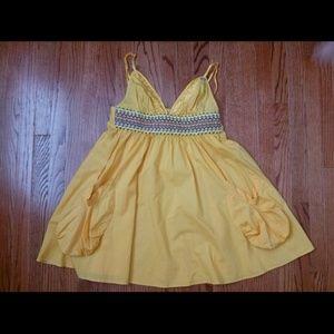 Miss sixty woven pocket dress