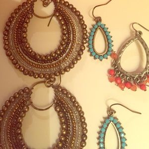 Accessories - 3 sets of summer earrings!