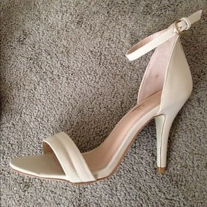 Shoes - Nude Sandals