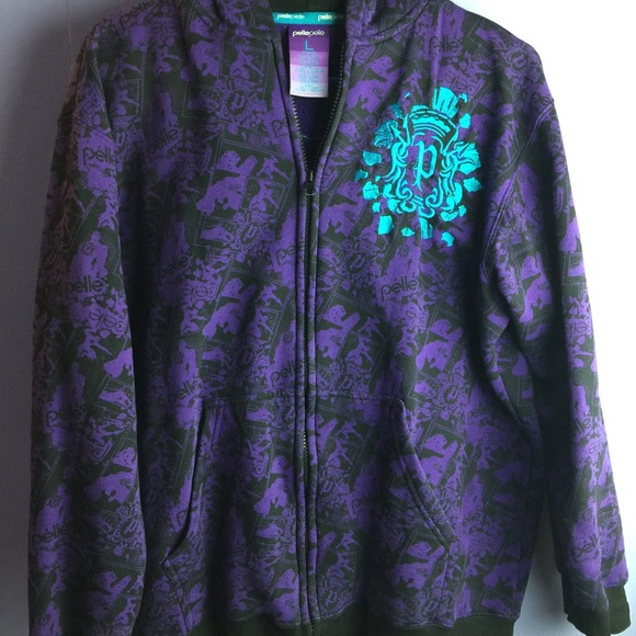 e3526e89f Pelle Pelle Purple Youth / Men Hoodie