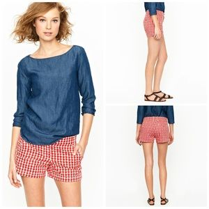 J. Crew Mini Delicious Apple Shorts - Size 0