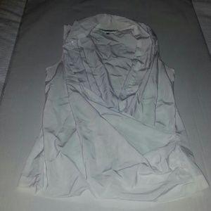 Nordstrom Pleione wrap blouse